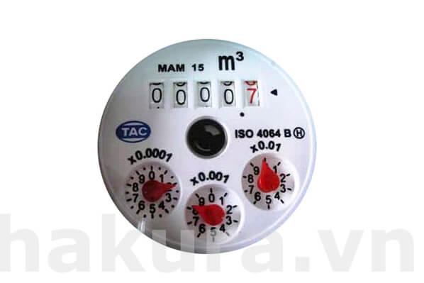 Bộ đếm của đồng hồ đo lưu lượng nước - hakura.vn
