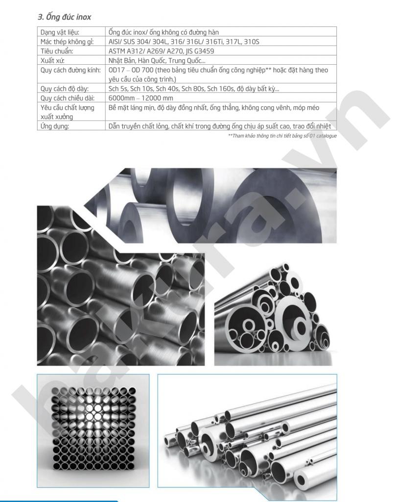 Catalogue thông số kỹ  thuật ống trang trí inox-hakura.vn-ảnh 1