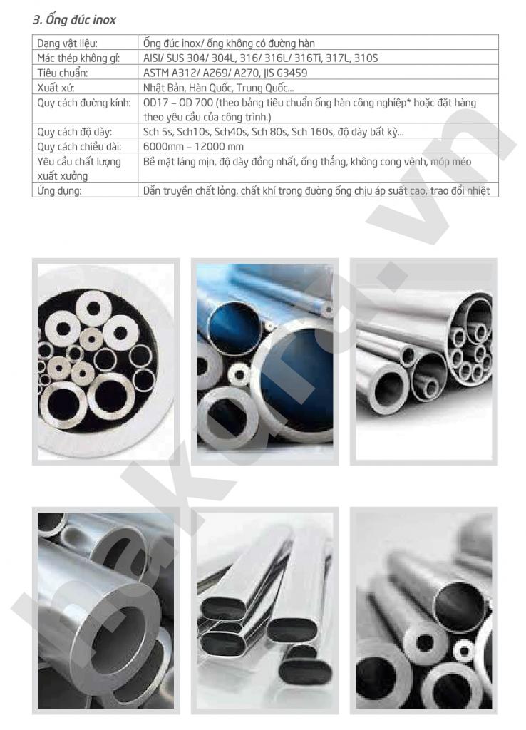 Catalogue thông số kỹ thuật ống inox 201 -hakura.vn-ảnh 2
