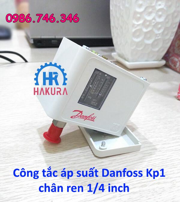 Công tắc áp suất Danfoss KP1 chân ren 1/4 inch