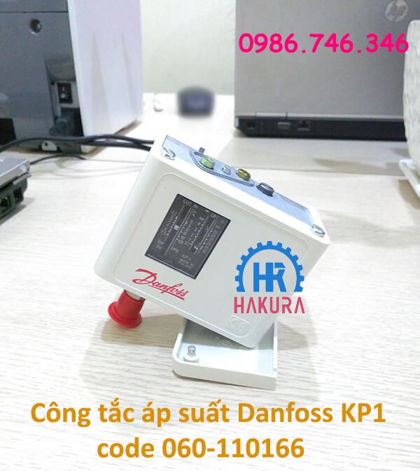 Công tắc áp suất Danfoss KP1 code 060-110166