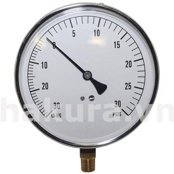 Cấu tạo đặc trưng của đồng hồ đo áp suất - hakura.vn