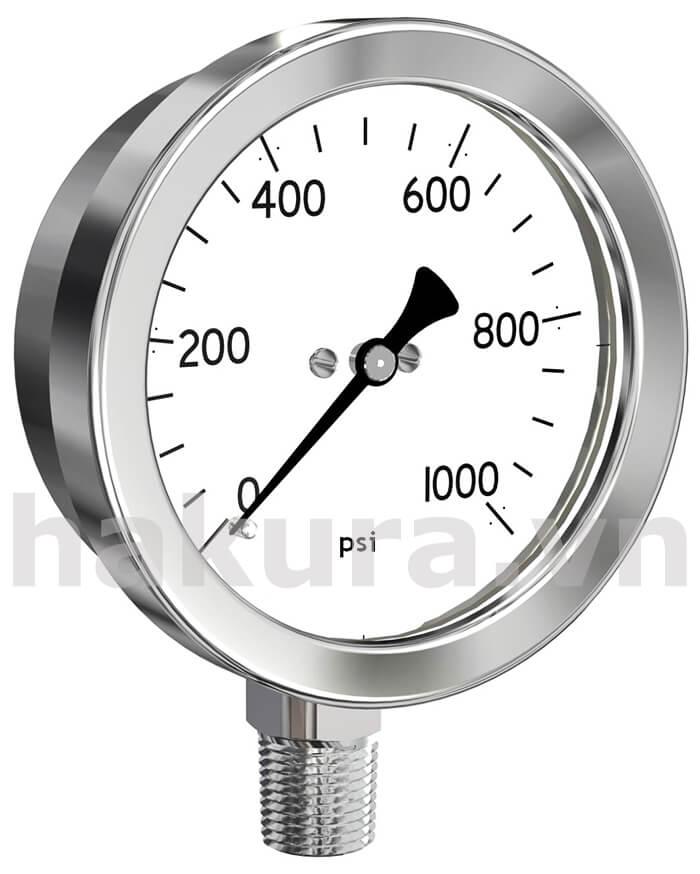 Đồng hồ đo áp suất phi 100mm - hakura.vn