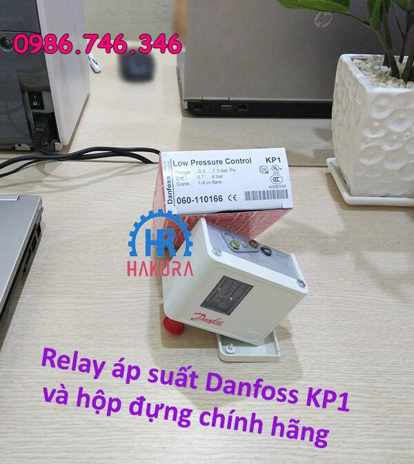 Relay áp suất Danfoss KP1 hộp đúng chính hãng
