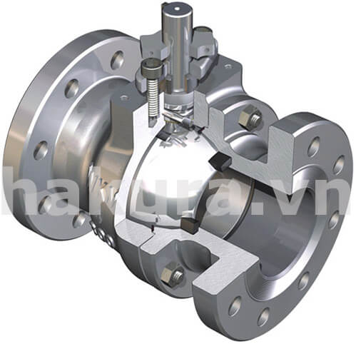 Nguyên lý hoạt động của van bi ball valve - hakura.vn