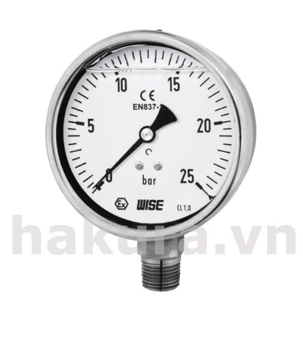 Đồng hồ đo áp suất Wise model p258