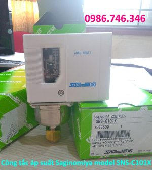 Công tắc áp suất Saginomiya model SNS C101X - hakura.vn
