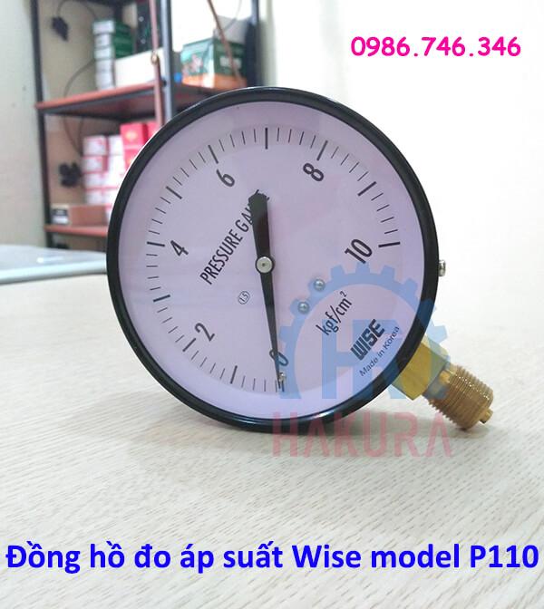 Đồng hồ đo áp suất Wise model p110 - hakura.vn