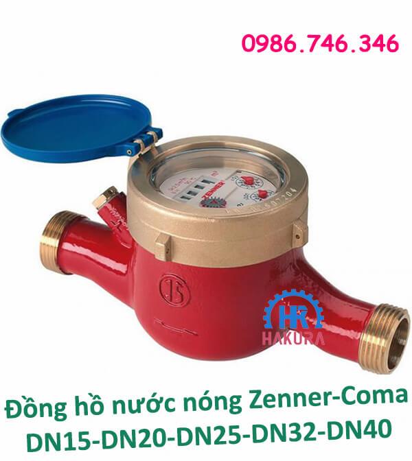 Đồng hồ nước nóng Zenner-Coma DN15 - DN20 - DN25 - DN32 - DN40 giá rẻ