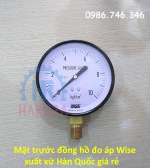 Mặt trước đồng hồ đo áp Wise xuất xứ Hàn Quốc giá rẻ - hakura.vn