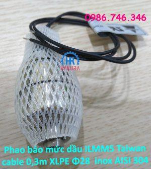 phao-bao-muc-dau-ilmm5-taiwan-cable-0.3-m-xlpe-phi-28-inox-aisi-304