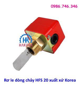 Rơ le dòng chảy HFS20 xuất xứ Korea