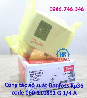 Công tắc áp suất Danfoss KP36 code 060-110891 G 1/4 A