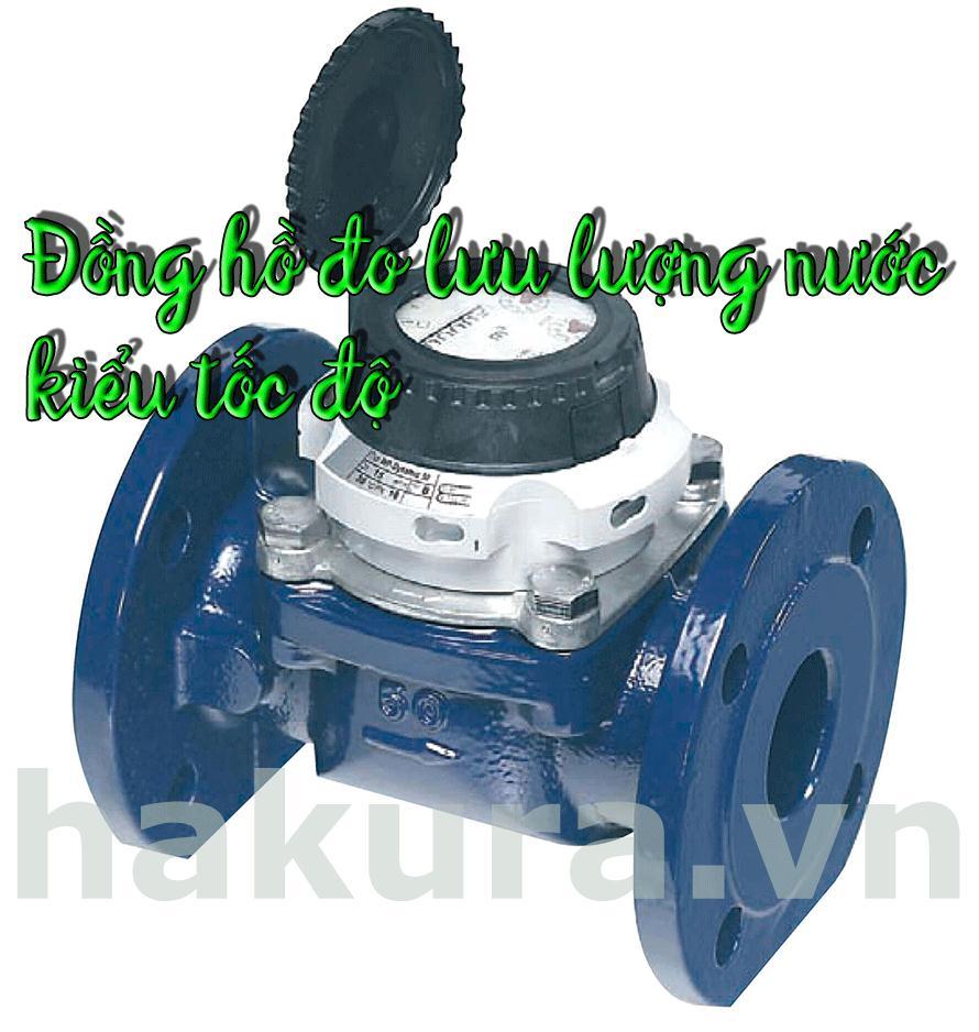 Đồng hồ đo lưu lượng nước kiểu tốc độ - hakura.vn