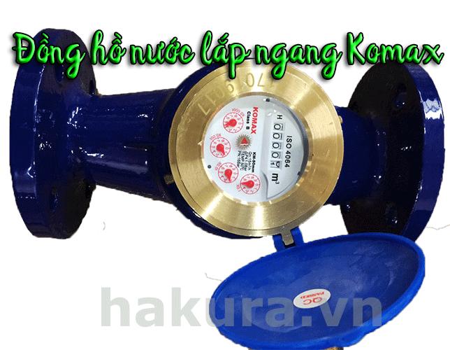 Đồng hồ đo lưu lượng nước kiểu lắp ngang - Hakura.vn
