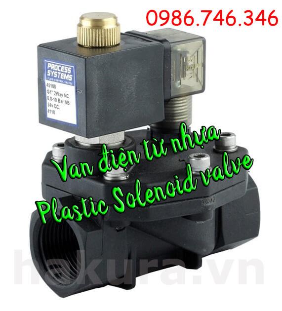 Hãy mua ngay Van điều khiển điện từ nhựa - Plastic Solenoid valve tại Hakura. Những ưu đãi đầy bất ngờ dành cho Quý khách trong tháng này nhé.