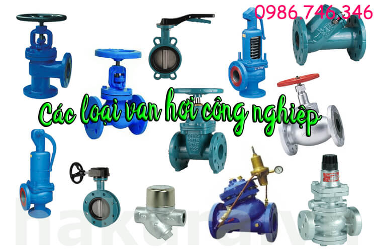 Các vật tư van hơi valve công nghiệp - hakura.vn