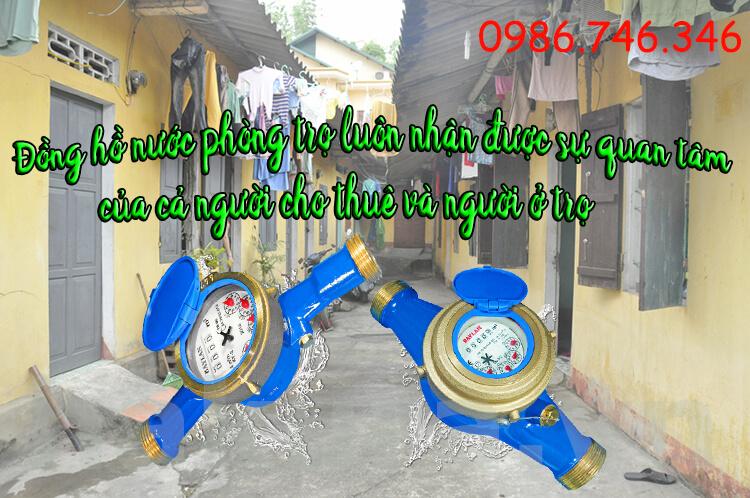 Đồng hồ nước phòng trọ luôn hot nhận được sự quan tâm của chủ cho thuê và người ở trọ