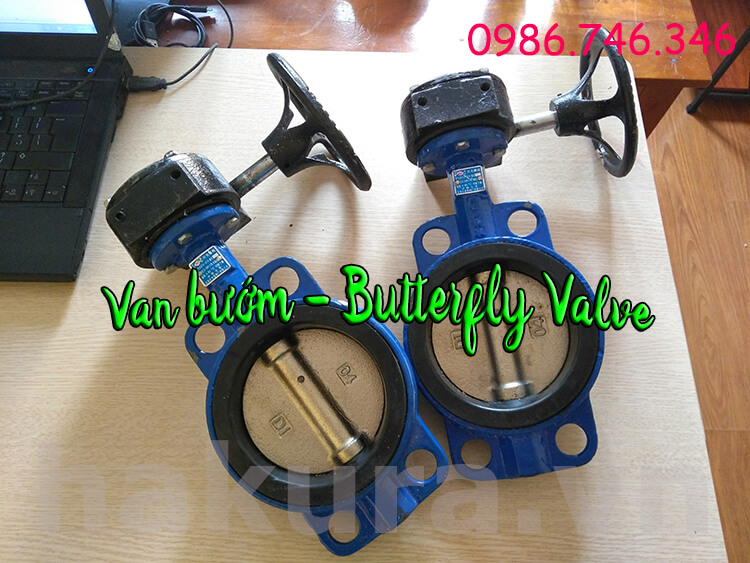 Khái niệm van bướm - butterfly valve hakura.vn