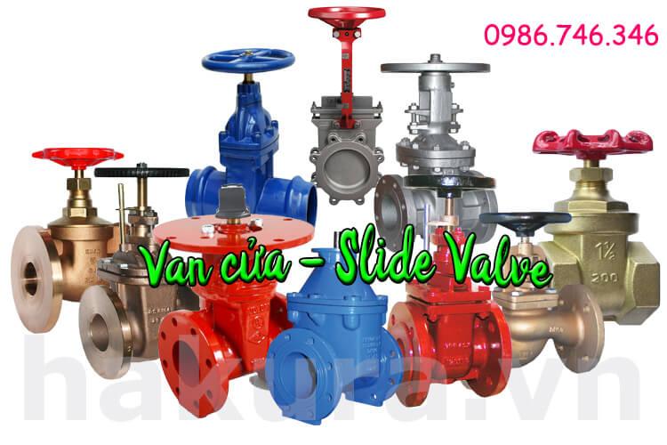 Khái niệm Van cửa slide valve - hakura.vn