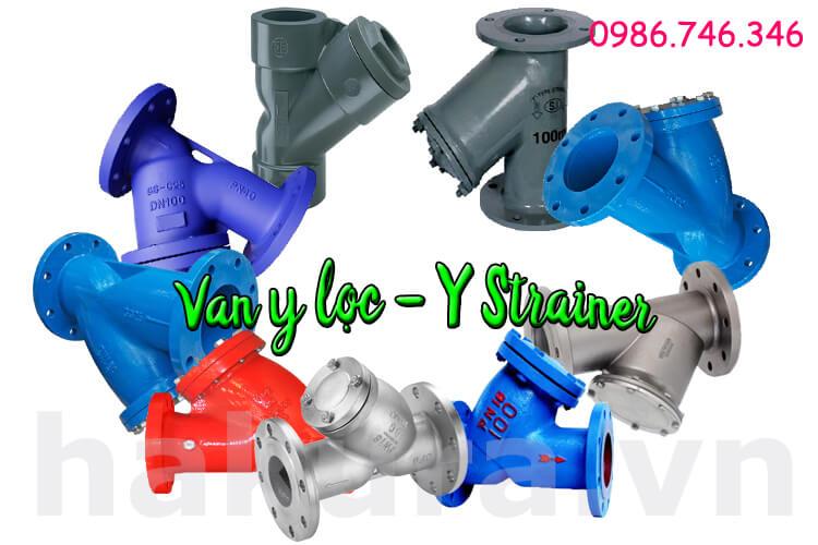 Khái niệm Van y lọc Y strainer valve - hakura.vn