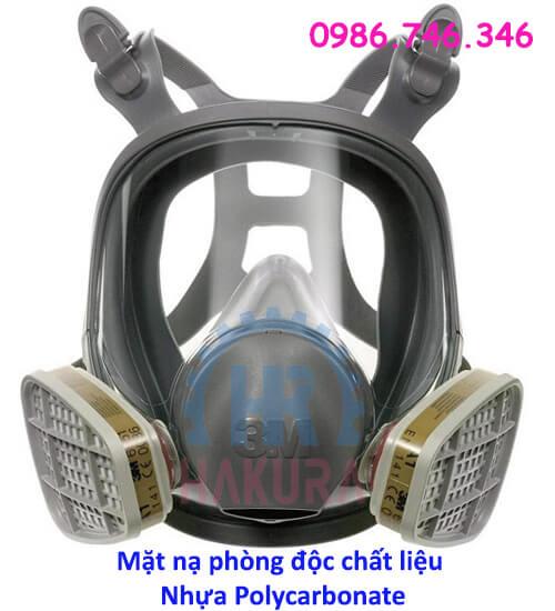 Mặt nạ phòng độc chất liệu Hydrocacbonate - Hakura.vn