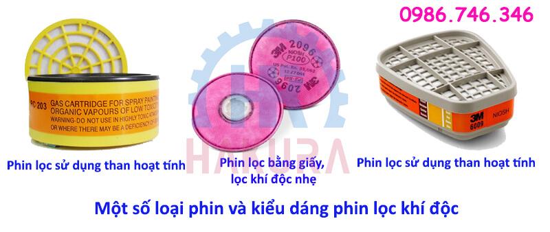 Một số loại phin và kiểu dáng phin lọc khí độc - Hakura.vn