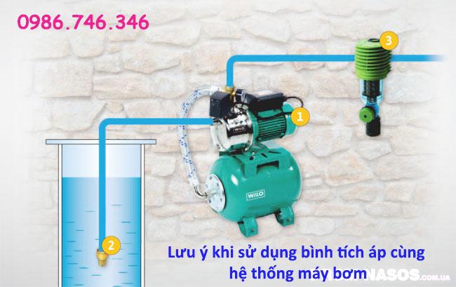 Lưu ý khi sử dụng bình tích áp trong hệ thống máy bơm - Hakura.vn