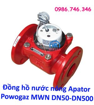 Đồng hồ nước nóng Apator Powogaz MWN DN50-DN500 đã kiểm định