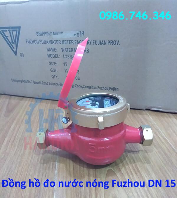 Đồng hồ đo nước nóng Fuzhou DN 15 - hakura.vn