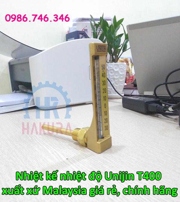 Nhiệt kế nhiệt độ Unijin T400 xuất xứ Malaysia giá rẻ chính hãng - hakura.vn