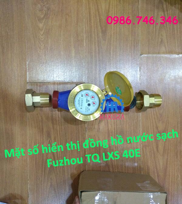 Mặt số hiển thị đồng hồ nước sạch Fuzhou TQ LXS 40E