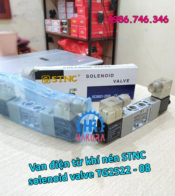 Van điện từ khí nén STNC solenoid valve TG2522-08