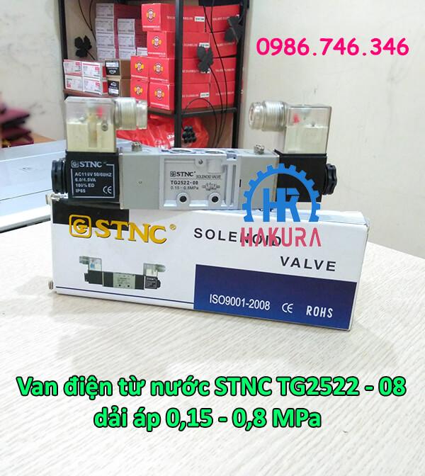 Van điện từ nước STNC TG2522-08 dải áp 0,15 - 0,8 Mpa
