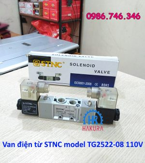 Van điện từ STNC model TG2522-08 110V