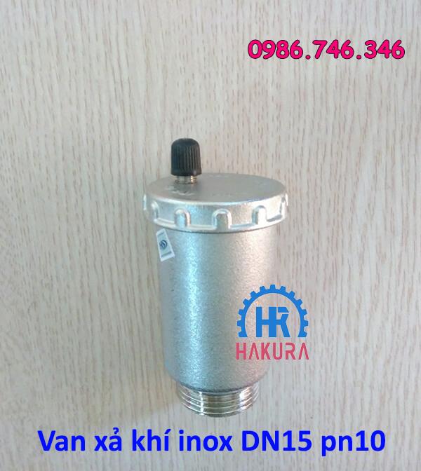 Van xả khí inox DN15 PN10