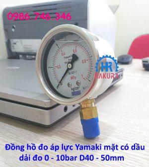 dong-ho-do-ap-luc-yamaki-mat-co-dau-dai-do-0-10-bar-d40-50-mm