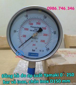 dong-ho-do-ap-suat-yamaki-0-250-bar-vo-inox-chan-inox-d150-mm