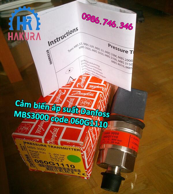 Cảm biến áp suất Danfoss MBS3000 code 060G1110