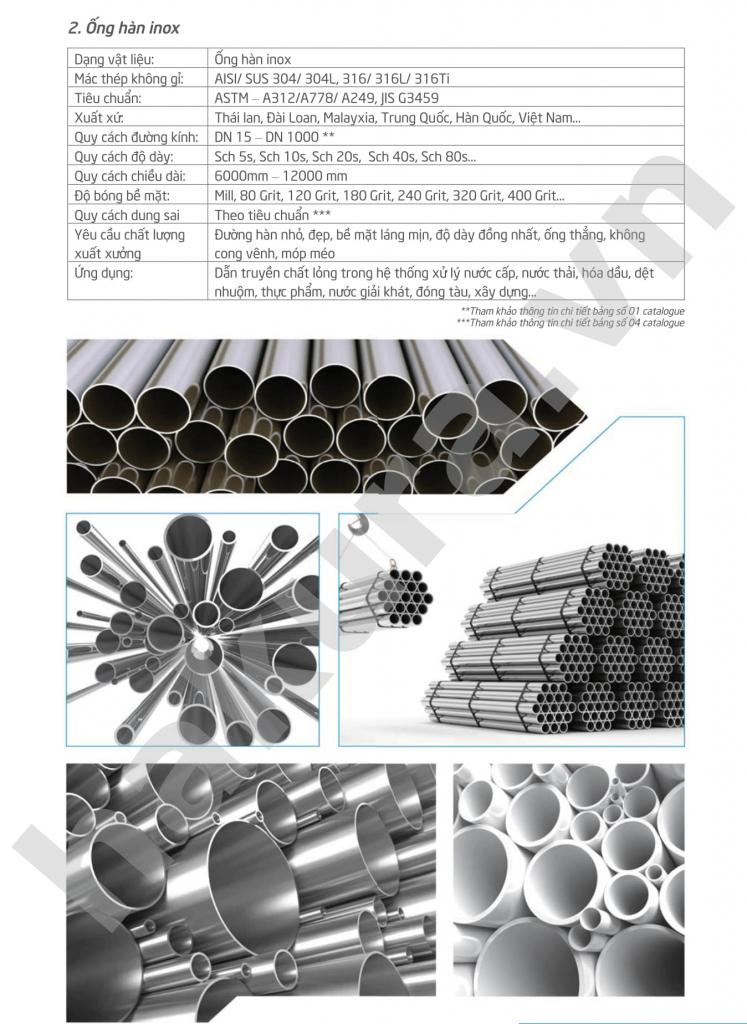 Catalogue thông số kỹ thuật ống inox phi 19 dày 0.8mm-hakura.vn-ảnh 1
