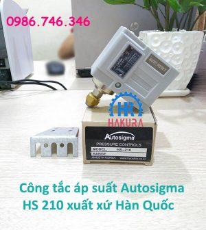 Công tắc áp suất Autosigma HS210 xuất xứ Hàn Quốc