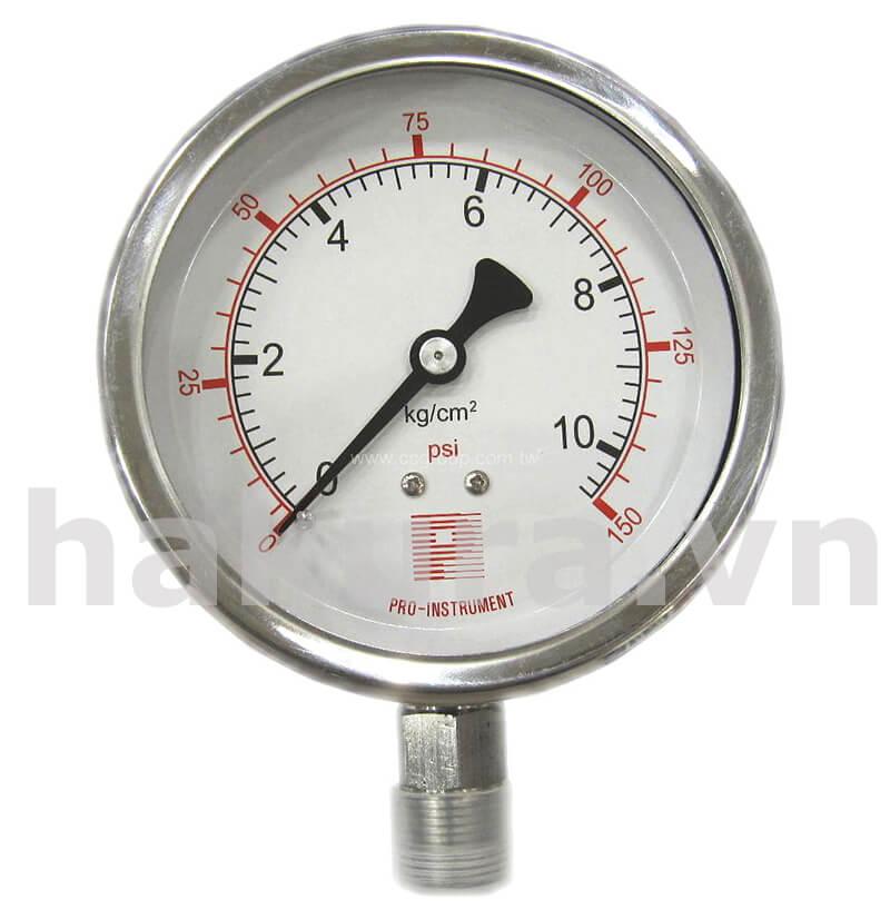 Đồng hồ đo áp suất D63 mm - hakura.vn
