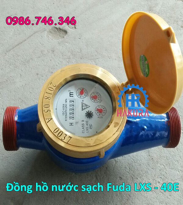 Đồng hồ đo nước sạch Fuda LXS 40E Qn10