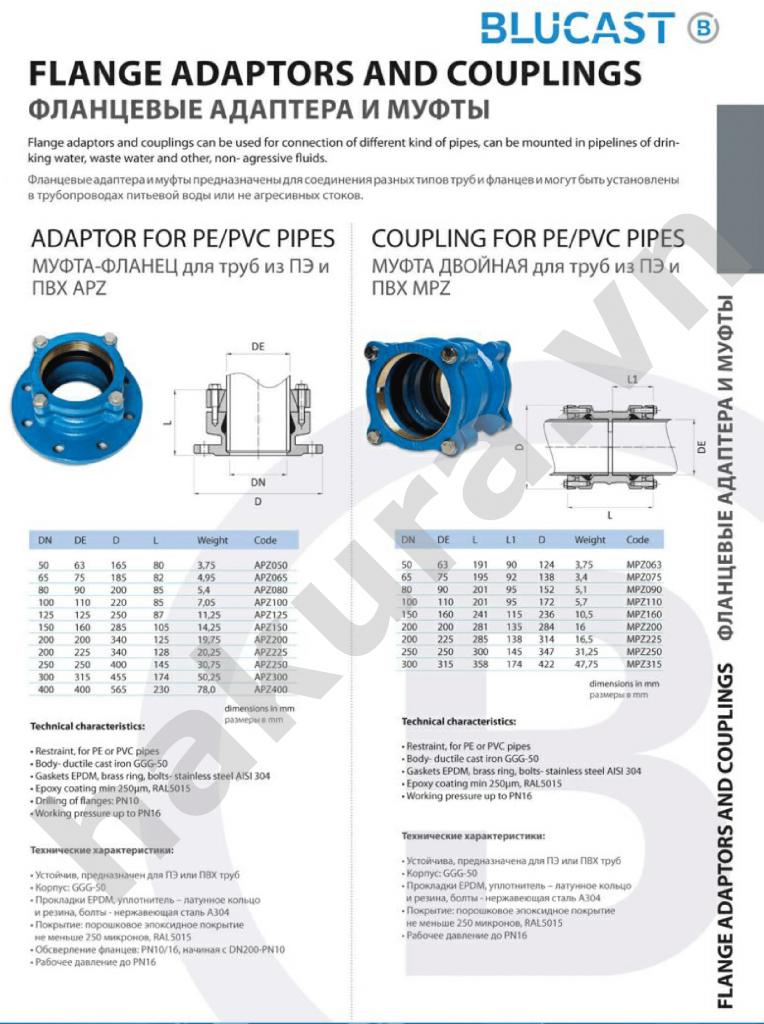 Catalogue thông số kỹ thuật khớp nối mềm BE DN100-hakura.vn