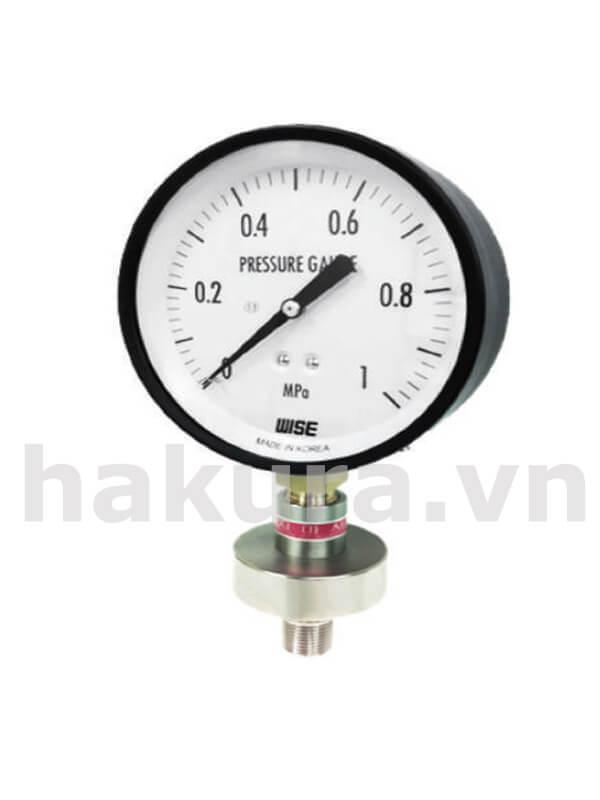 Đồng hồ đo áp suất Wise model p170