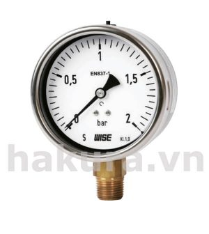 Đồng hồ đo áp suất Wise model p253