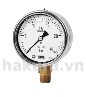 Đồng hồ đo áp suất Wise model p259