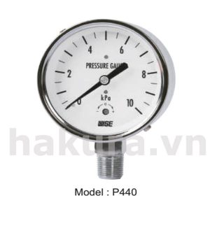 Đồng hồ đo áp suất Wise model p440