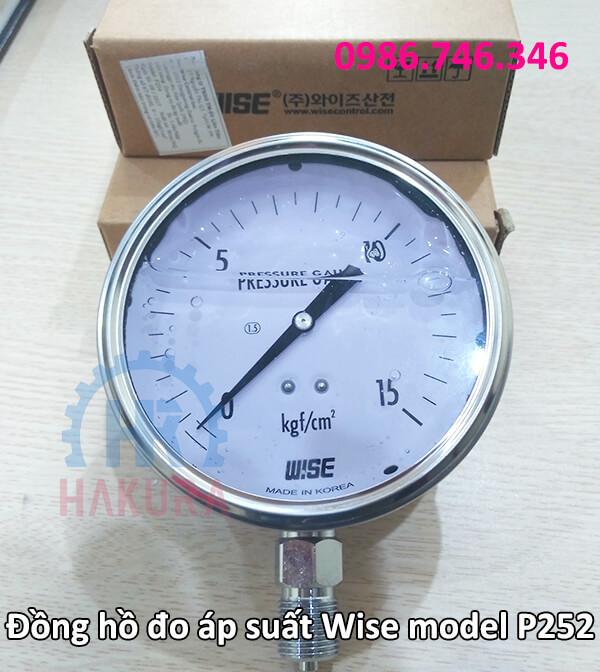 Đồng hồ đo áp suất Wise model p252 - hakura.vn