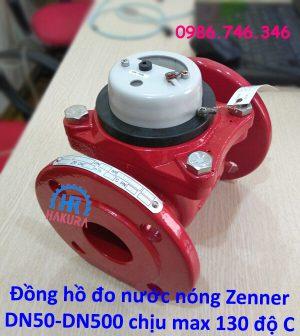Đồng hồ đo nước nóng Zenner DN50-DN500 chịu max 130 độ C